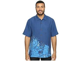 Tommy Bahama Forta Lazea Fronds Short Sleeve Woven Shirt Men's Short Sleeve Button Up
