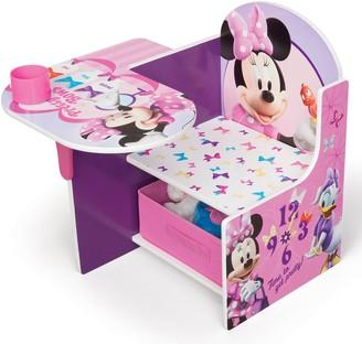 Disney Disney's Minnie Mouse Chair Desk With Storage Bin by Delta Children
