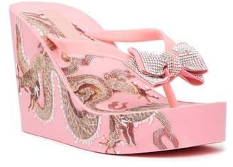 Bebe Alaya Wedge Sandal