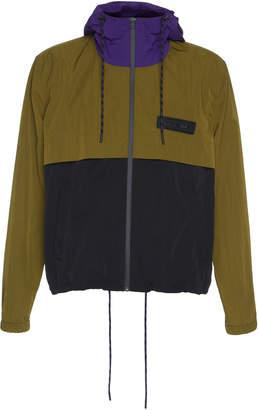 Ami Colorblocked Blouson Jacket