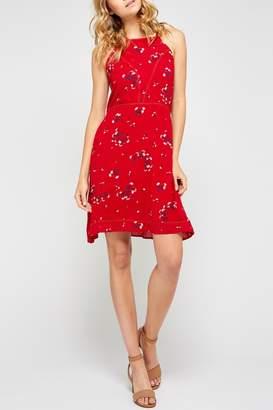 Gentle Fawn Floral Tieback Dress