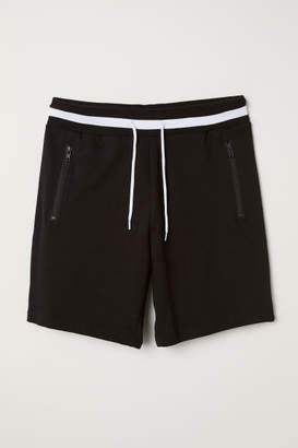 H&M Sweatshorts - Black