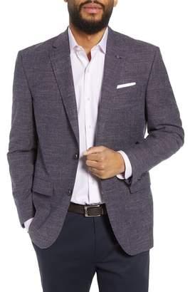 Ted Baker Jay Trim Fit Slubbed Wool, Cotton & Linen Sport Coat