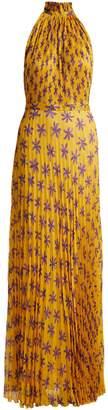 RAQUEL DINIZ Giovanna floral-print silk gown