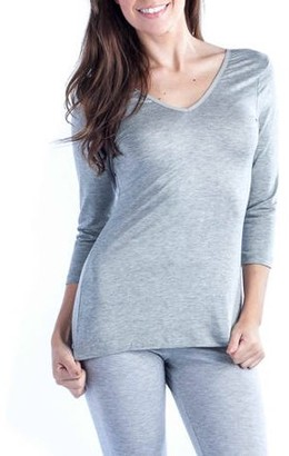 24/7 Comfort Apparel Women's Two-in-One Tunic Top