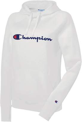 Champion Powerblend Logo Graphic Hoodie