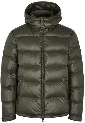 Polo Ralph Lauren Dark Green Quilted Shell Jacket
