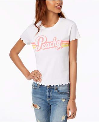Love Tribe Juniors' Peachy Graphic T-Shirt