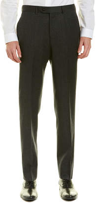 Brooks Brothers Regent Fit Flannel Wool Trouser