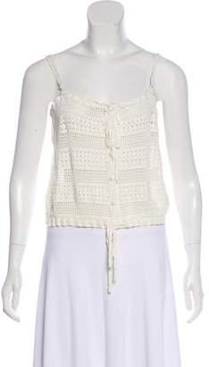Joie Crochet Crop Top