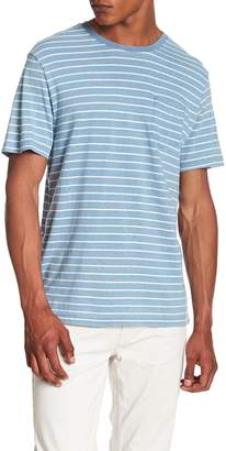 Tailor Vintage Striped Patch Pocket Tee