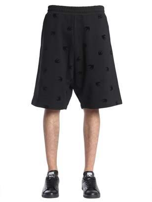 McQ Mini Swallow Printed Shorts