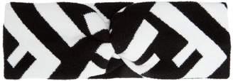 Fendi Logo intarsia-knit headband