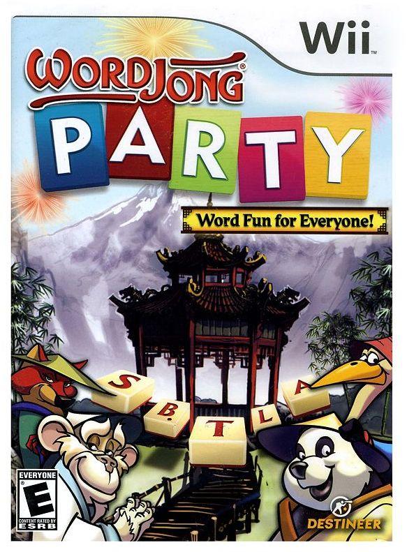 Nintendo wii word jong: party