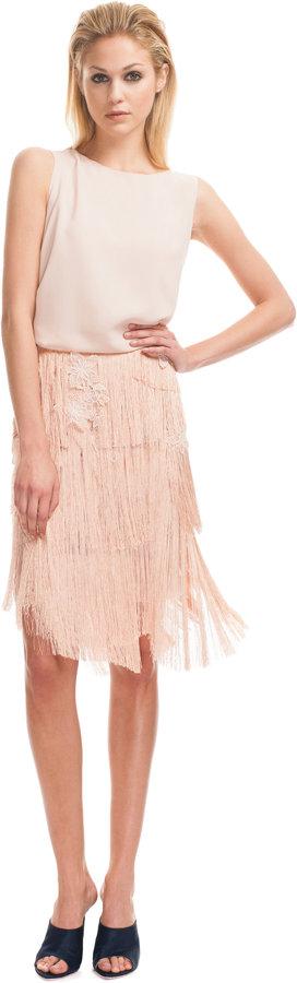 Nina Ricci Fringe Skirt
