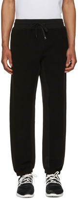 adidas Originals by Alexander Wang Black Inout Jogger Lounge Pants $160 thestylecure.com