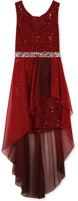 Speechless Lace Hi-Low Dress, Girls (7-16) $94 thestylecure.com