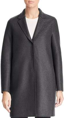 HARRIS WHARF Virgin Wool Overcoat
