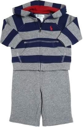 Ralph Lauren Striped Cotton Sweatshirt & Pants