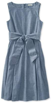 L.L. Bean L.L.Bean Signature Chambray Dress