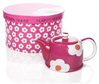 Yedi Houseware Magenta Daisy 18.6 oz. Teapot