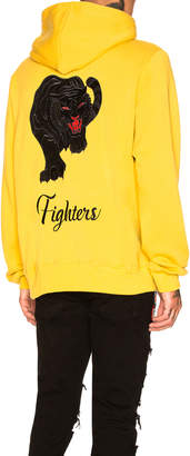 Amiri Fighters Embroidered Hoodie