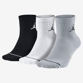 Jordan Jumpman Quarter Socks (3 Pair)