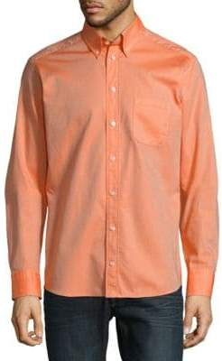 Eton Long Sleeve Casual Button-Down Shirt
