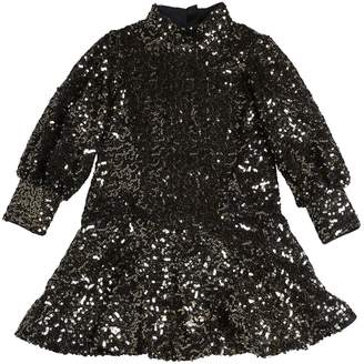Little Marc Jacobs Sequined Tulle Party Dress