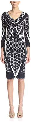 Basler Women's 3/4 Sleeve Sheath Dress