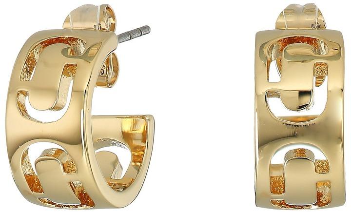 Marc JacobsMarc Jacobs - Icon Cut Out Small Hoop Earrings Earring