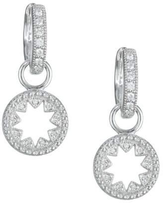 Jude Frances Diamond & 18K White Gold Kite Earring Charms