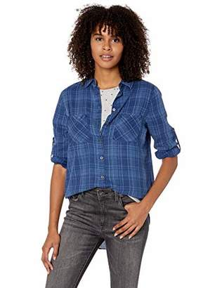 Vigoss Junior's Plaid Chambray Shirt