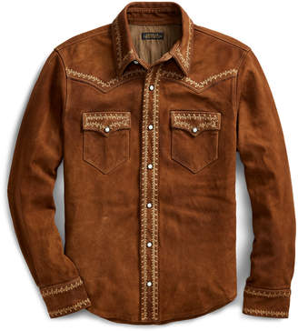 Ralph Lauren Limited-Edition Suede Jacket