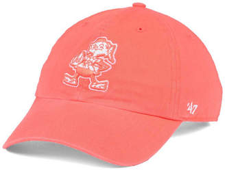 '47 Women's Cleveland Browns Pastel Clean Up Cap