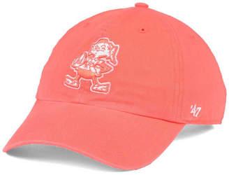 '47 Women Cleveland Browns Pastel Clean Up Cap