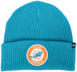 '47 Miami Dolphins Ice Block Cuff Knit Hat