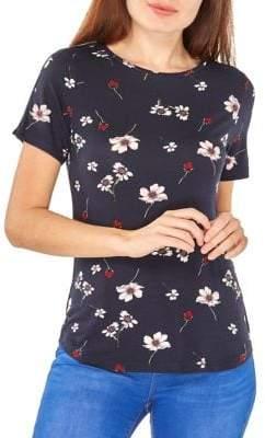 Dorothy Perkins Floral Short-Sleeve Tee