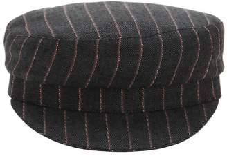bc75199217e ... Isabel Marant Striped Linen Captain s Hat
