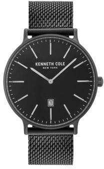 Kenneth Cole Mesh Stainless Steel Bracelet Watch