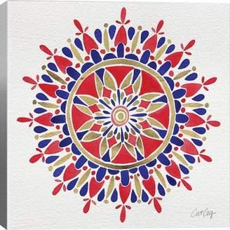 Bungalow Rose 'America Mandala' Graphic Art Print