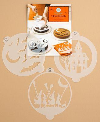 Martha Stewart Halloween Cake Stencils