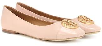 Tory Burch Chelsea leather ballerinas