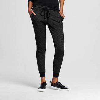 Women's Jogger Black with Gold Shine XXL - Mossimo Supply Co.; (Juniors') $19.99 thestylecure.com