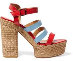 Castaner Adalia Leather Platform Sandals