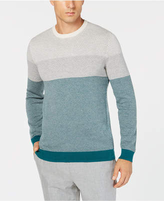 Tasso Elba Men Imola Colorblocked Supima Cotton Sweater