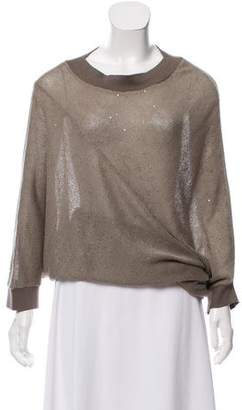 Brunello Cucinelli Oversize Sequin Sweater