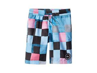 Quiksilver Resin Check Volley Shorts (Toddler/Little Kids)