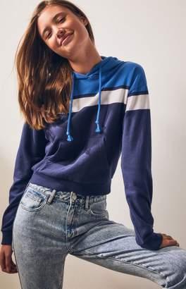 LA Hearts Cropped Pullover Sweatshirt