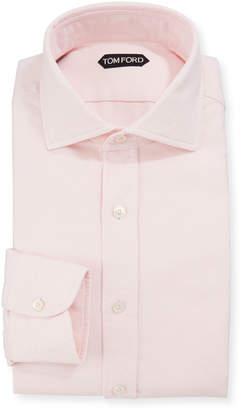 Tom Ford Men's Long-Sleeve Solid Dress Shirt